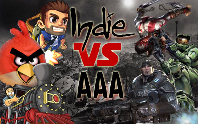 The growth of the Indie Game Industry and how the AAA Game Industry sees it