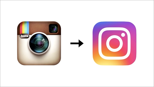 Instagram have made BIG changes to their Logo.